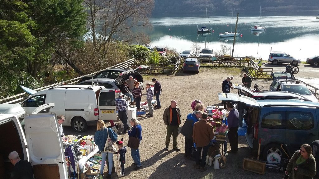 Sun shines on Craignish fundraiser