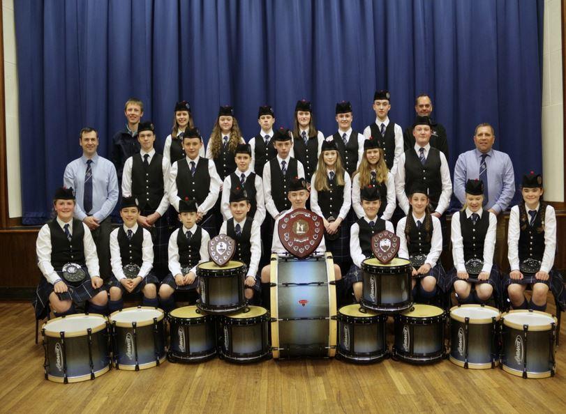 Lochalsh pipe band defend title at Scottish championships