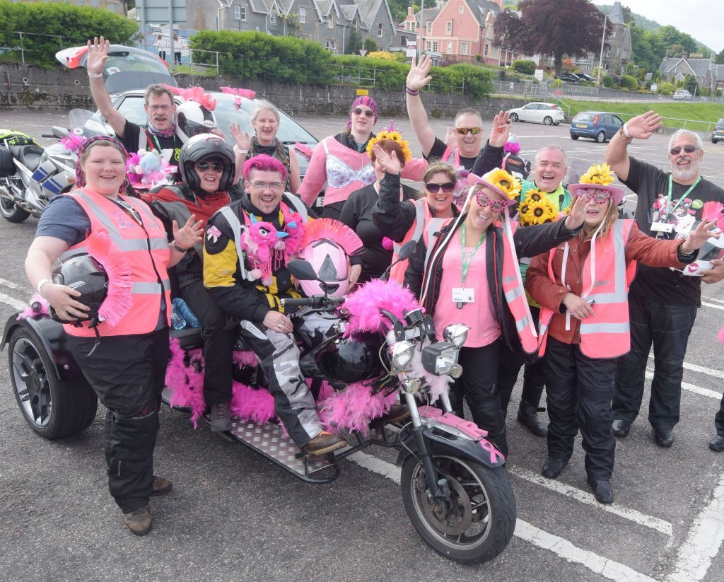 Breast Way Around Scotland comes to Fort William