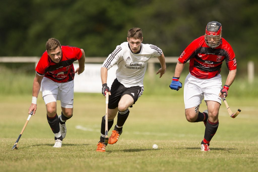 Narrow win for red-and-blacks in Camanachd Cup replay at Taynuilt
