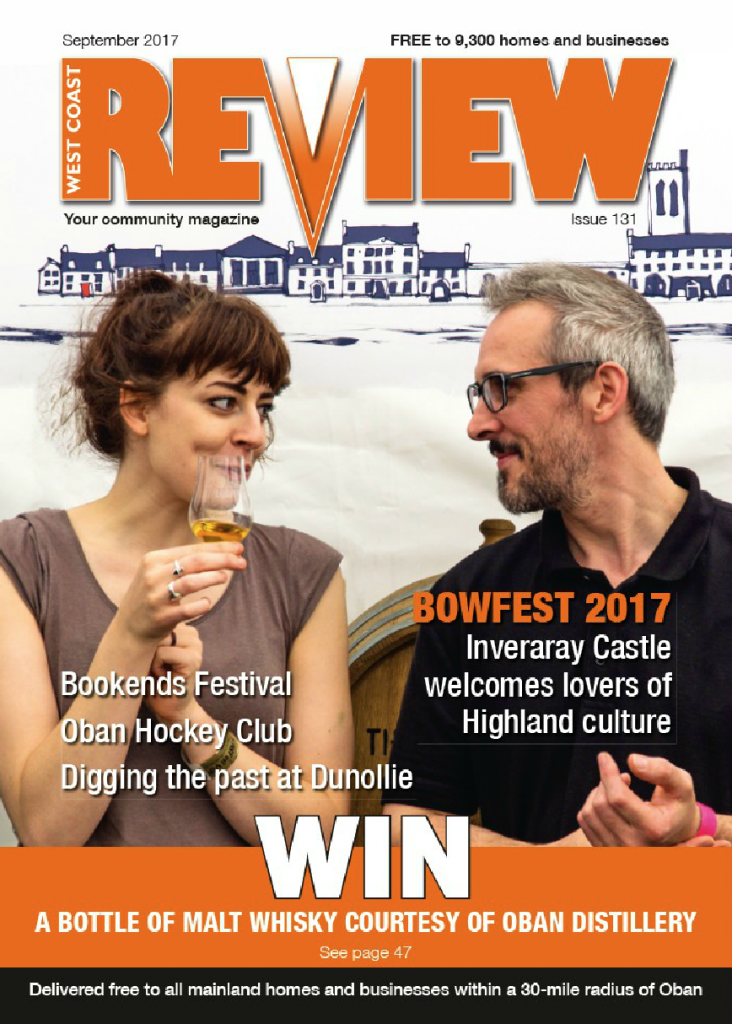 The September issue of West Coast Review is out now!