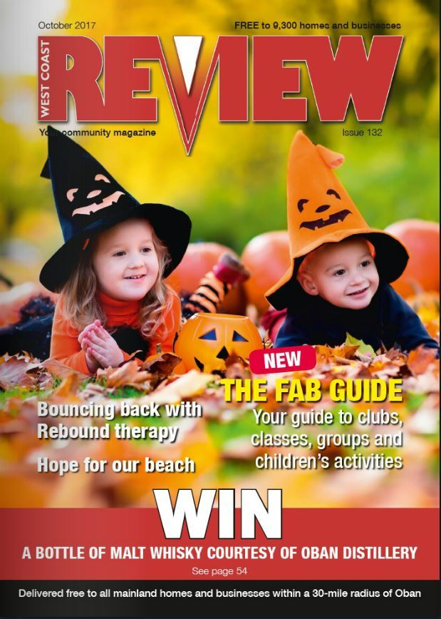 The October issue of West Coast Review is out now!