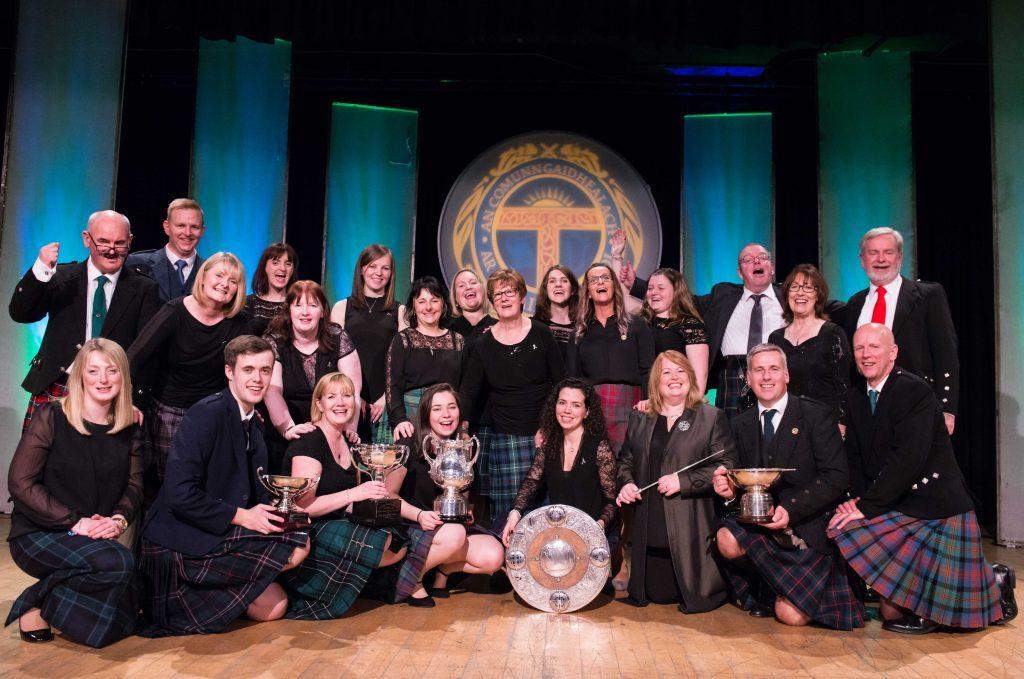 Lewis choir celebrate resounding Mòd success