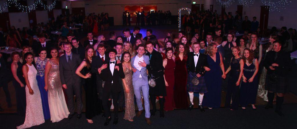Hundreds of Oban High pupils dance the night away