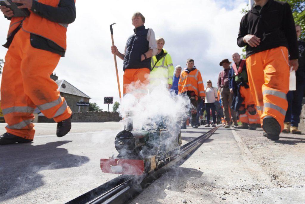 Lochaber midges prove fierce obstacle to biggest little railway