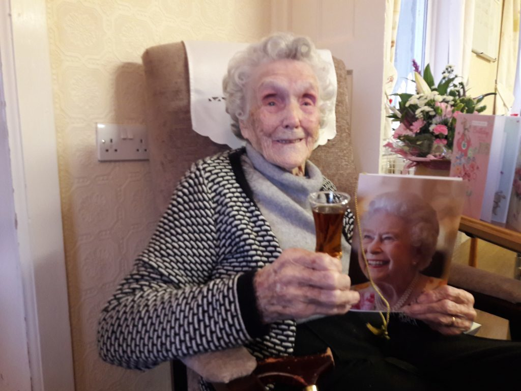 Oban woman Betty is a record breaker at 105