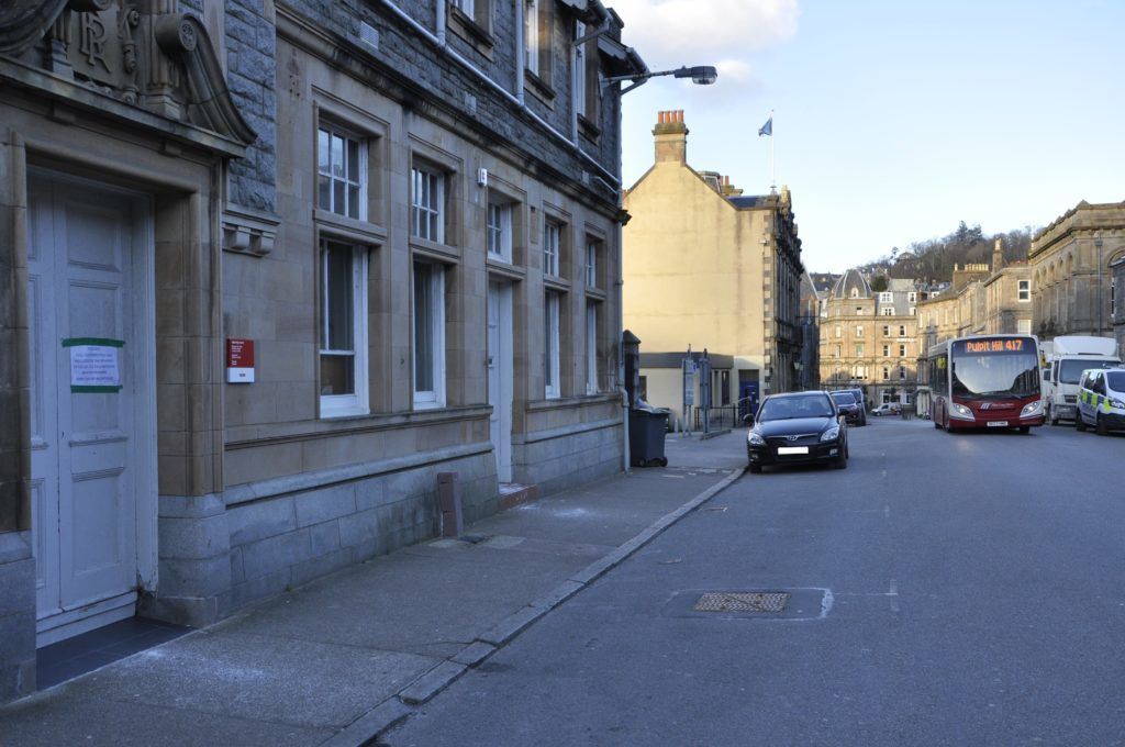 Opening hours cut at Oban Royal Mail centre
