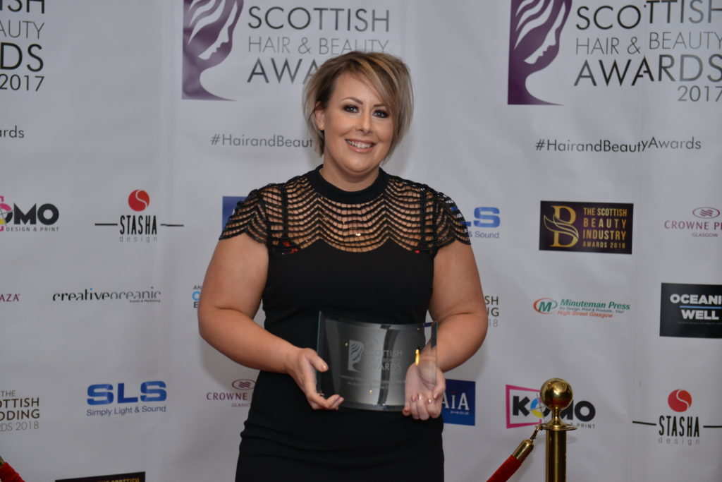Oban beautician shortlisted for national award