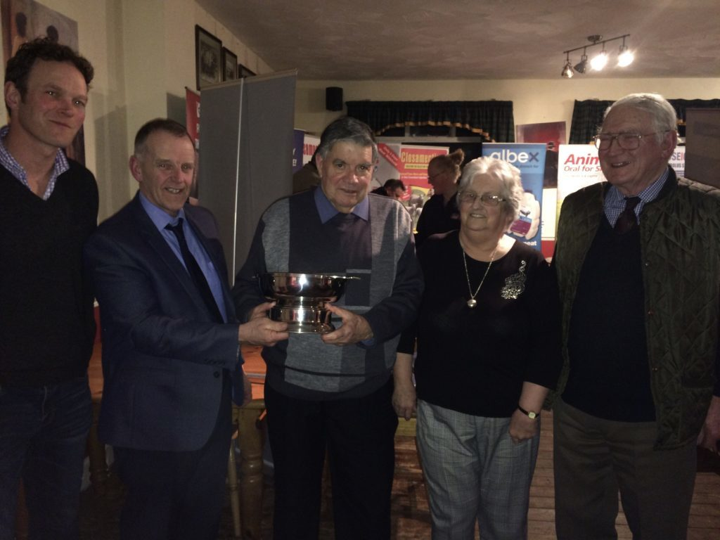 Mull stalwart Ronnie honoured by NFUS