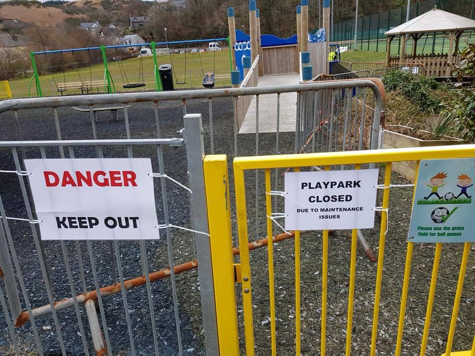 Playpark work goes out to tender