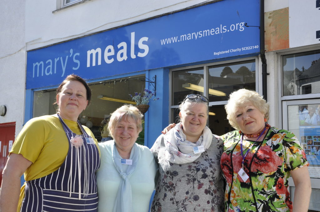 New Mary's Meals manager says she goes home every night with a smile