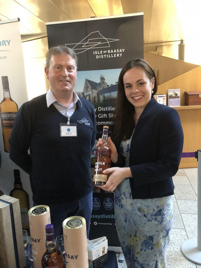Skye and Lochaber distilleries attend Holyrood showcase
