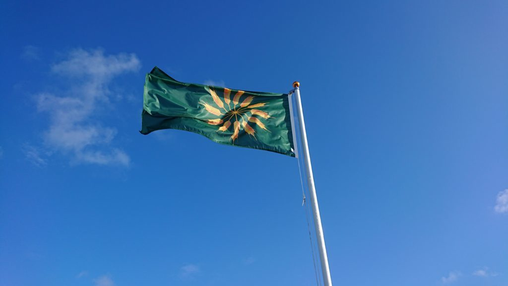 Tiree will keep the flag flying