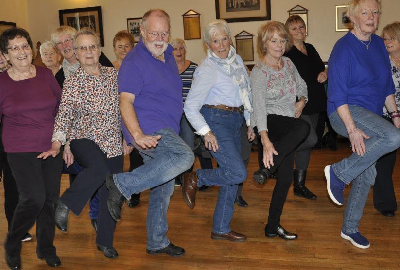 Oban line dancers get in step for Mull fundraiser