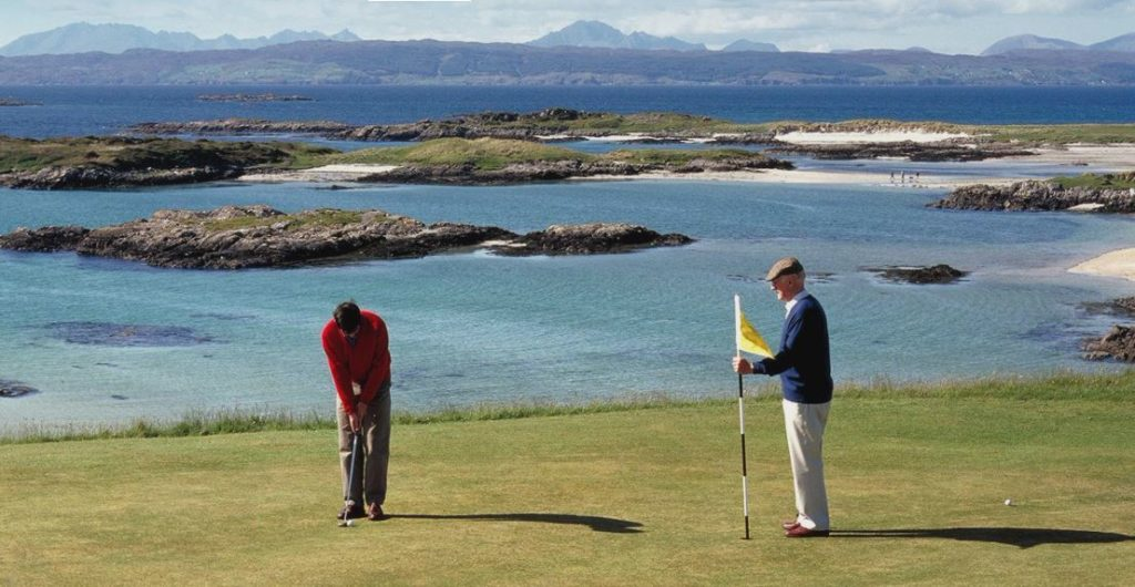 Traigh course teed up for book sale proceeds