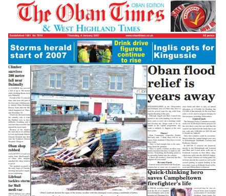 Oban Times PDF Archive 2007