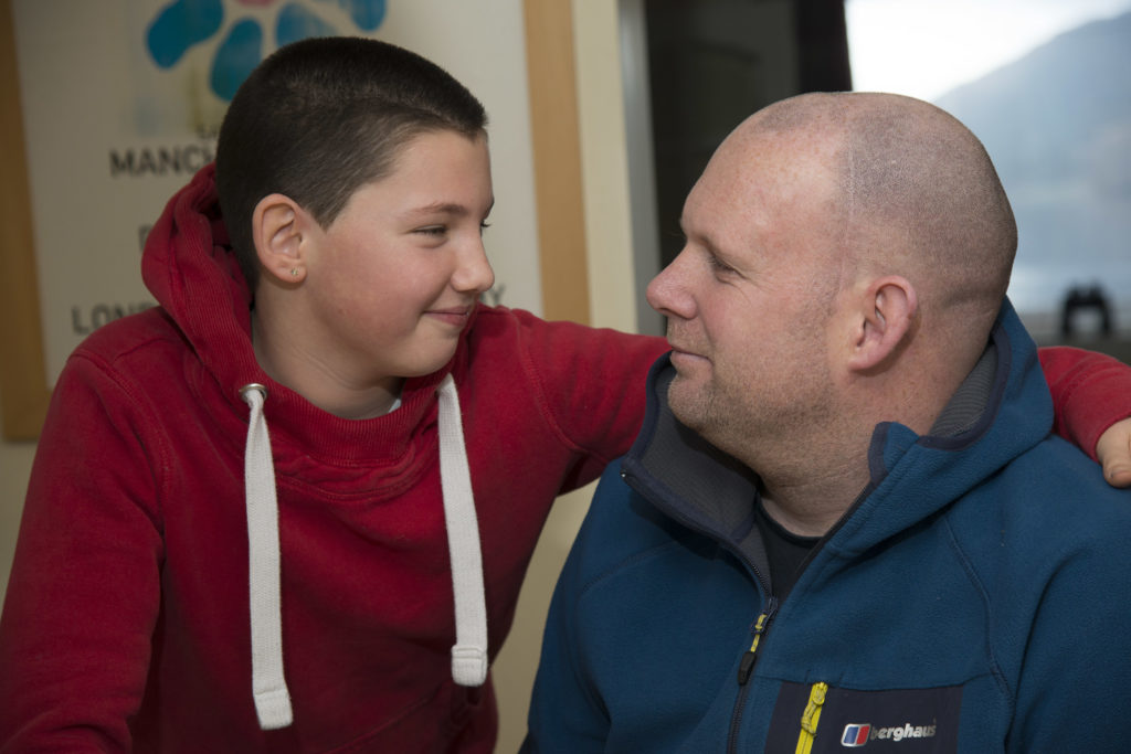 Katie's head shave raises thousands for Brain Tumour Charity