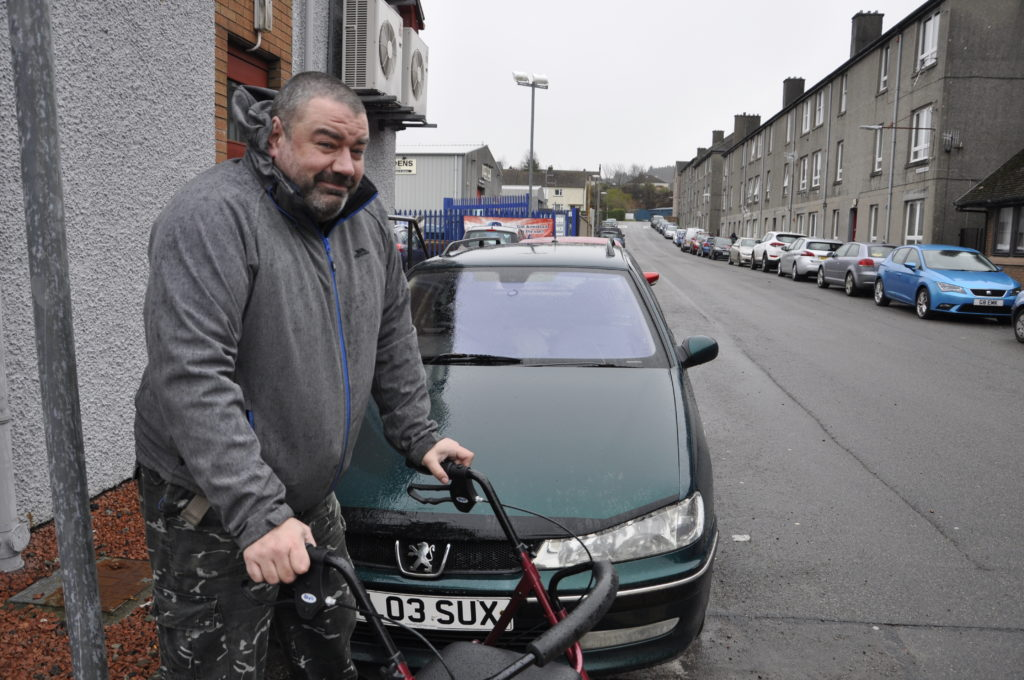 Disabled Oban driver counts cost of vandalism spree