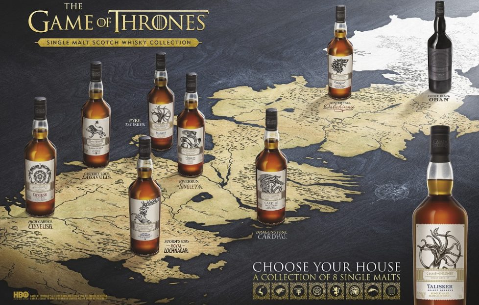 Game of Thrones whiskies set for release