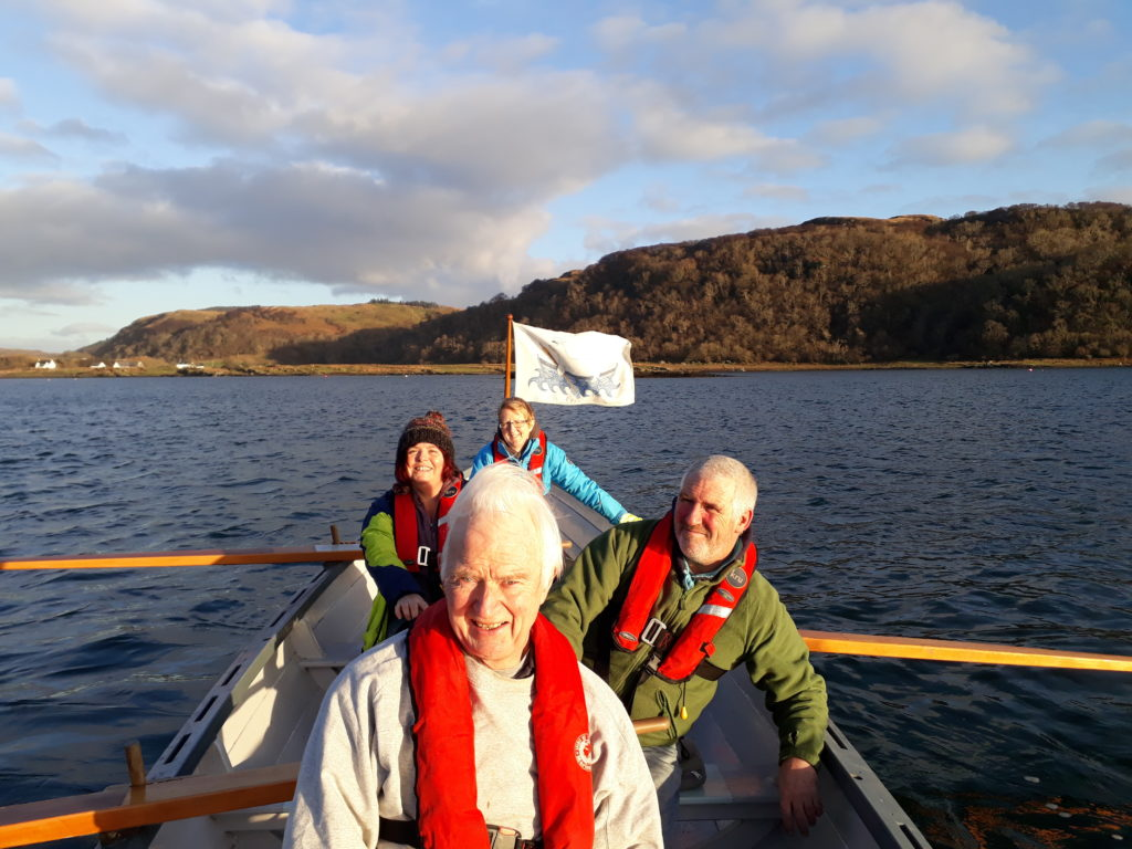 'Oar'some start to New Year for Seil coastal rowers