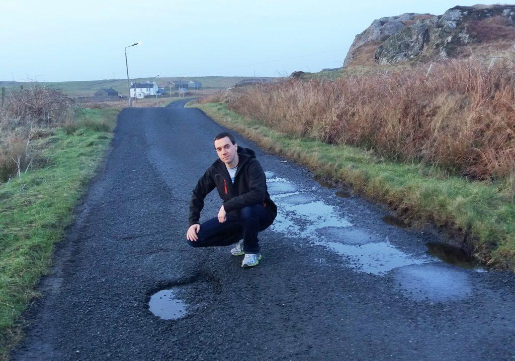 Potholes needs fixing on island's deteriorating roads
