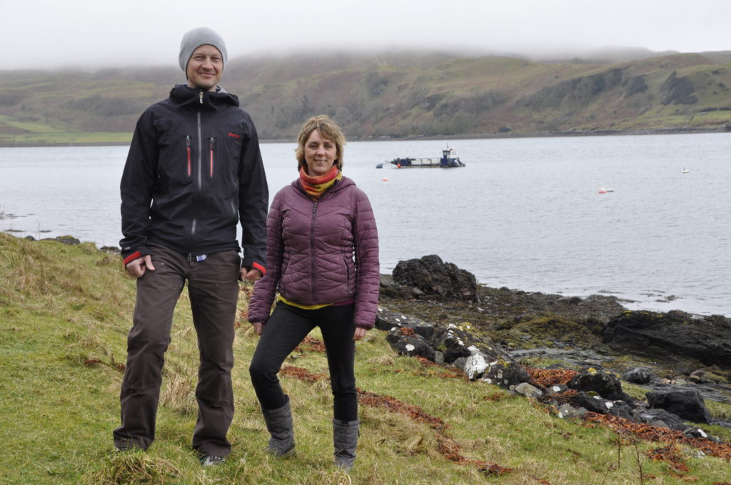 Jamie and Susan tackle rising tide of litter