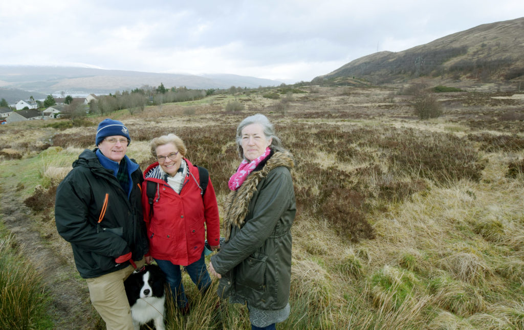 Group to discuss 325-house Upper Achintore plans