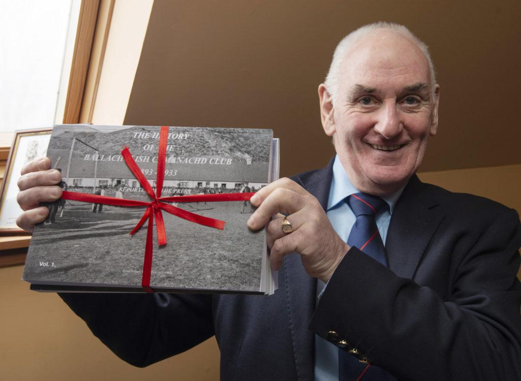 VIDEO: Author discusses Ballachulish Camanachd Club 125th anniversary book