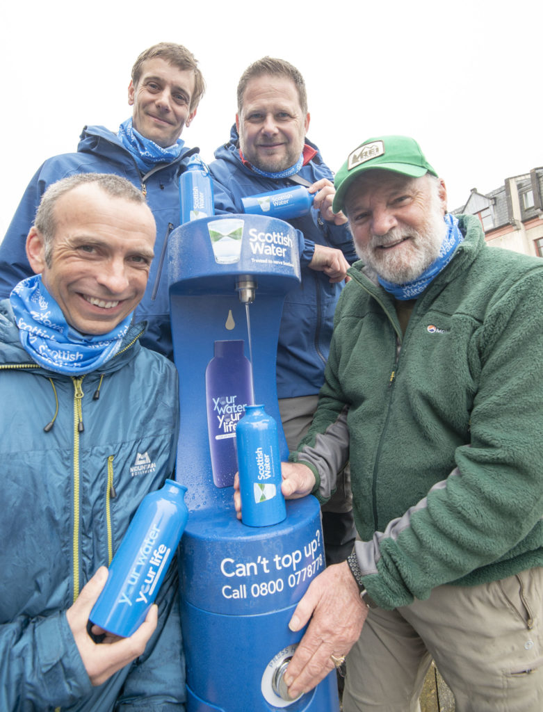 New top up tap for Fort's thirsty walkers turned on