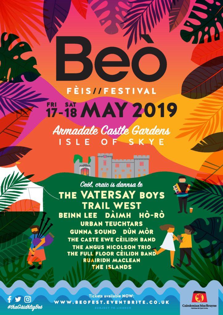 CalMac confirms sponsorship for Skye music festival