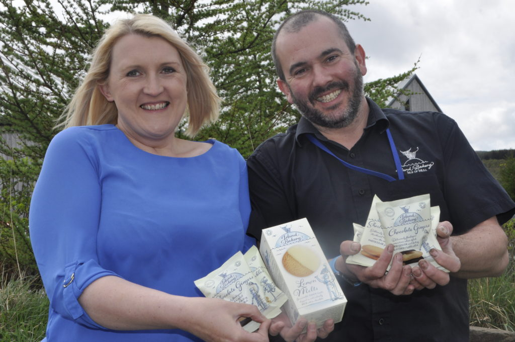 Sky's the limit for biscuits made on Mull