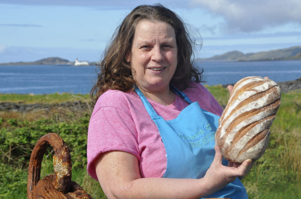 Sheila has all the right ingredients for Luing cooking job