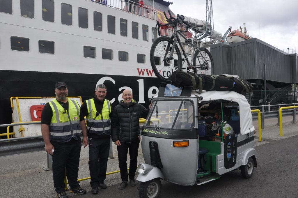 Hebridean adventure for 'Tuk Tuk James'