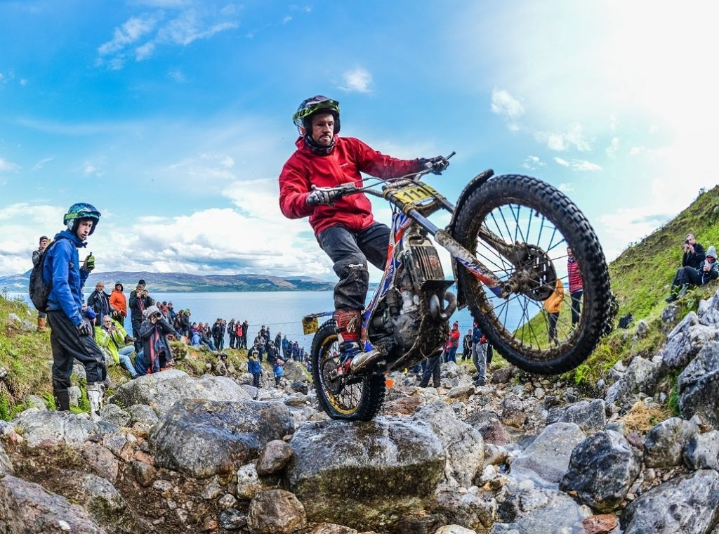 Dabill ends Lampkin's reign at Scottish Six Days Trial