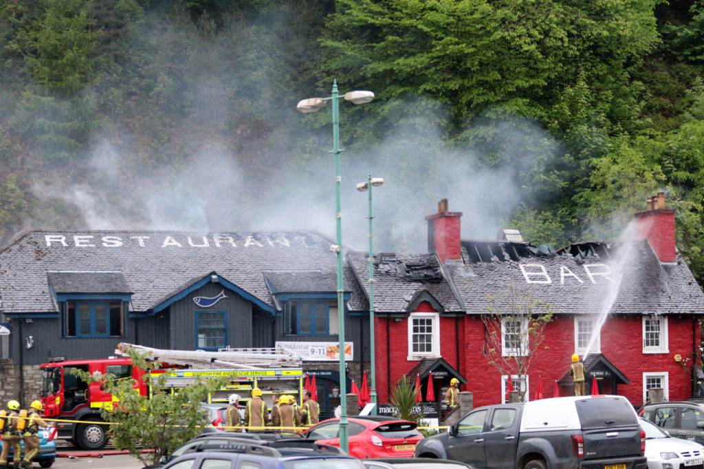 Cause of pub blaze still unknown