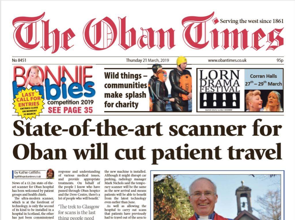 Oban Times PDF Archive 2019