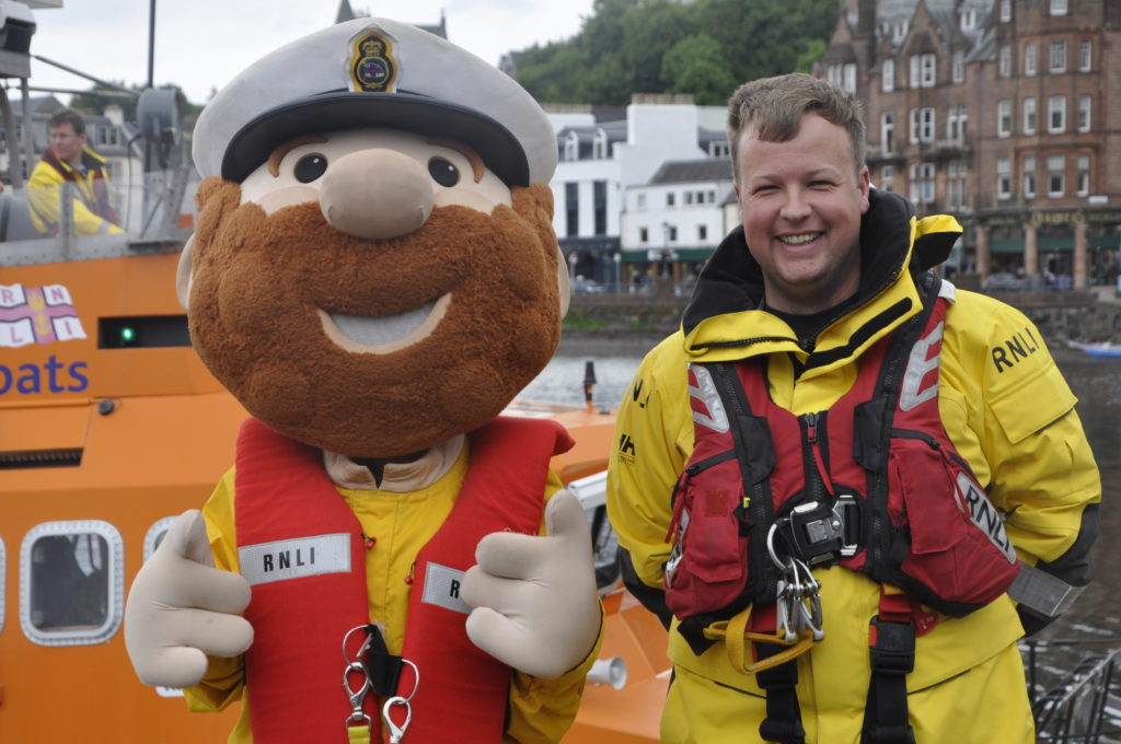 Busy open day for Oban lifeboat