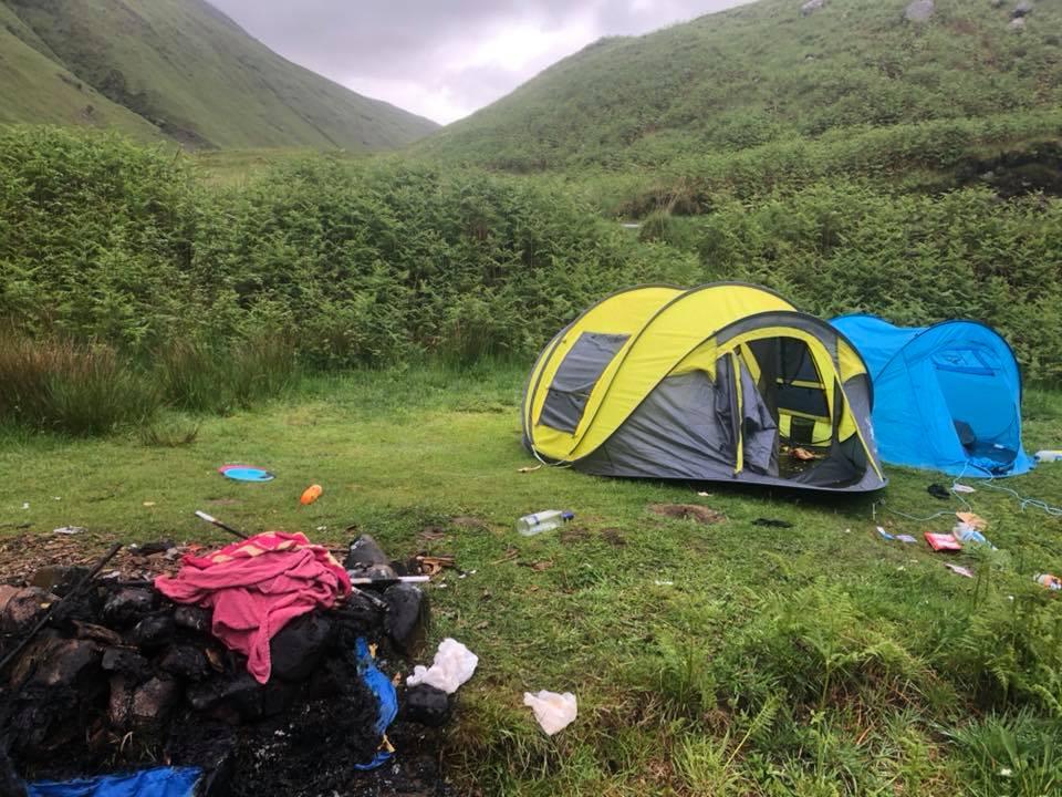 Wild weekend of anti-social campers