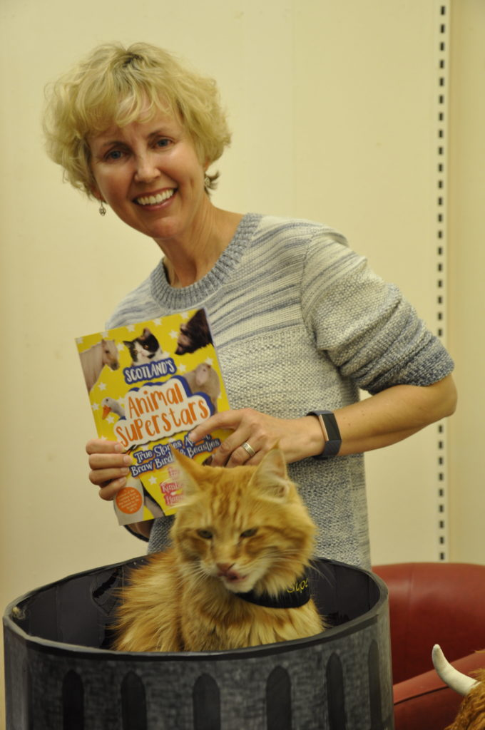 Oban's most popular pet Parsley shines at book launch