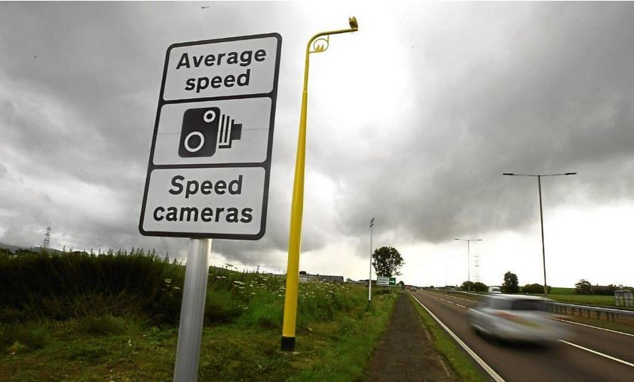 A82/A85 average speed cameras now live