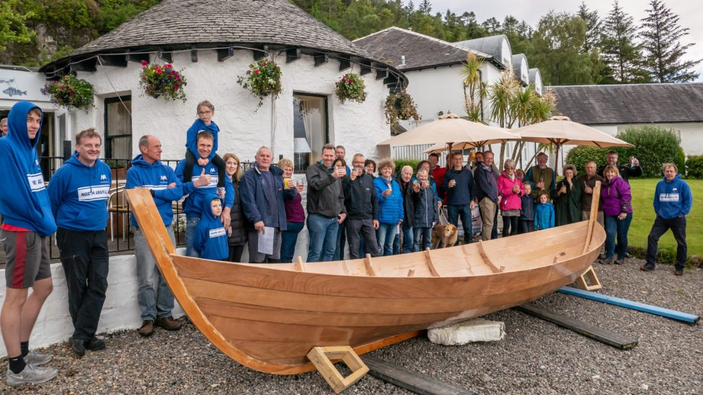 Skiff named in memory of much-missed Nelly G