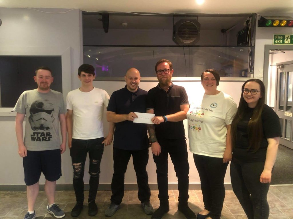 Bingo at The View raises £250 for musicians who climbed Ben Nevis