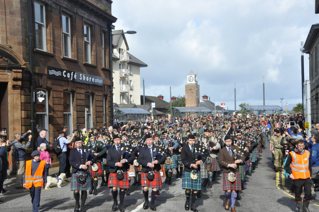 World's best converge on Oban for 148th Gathering