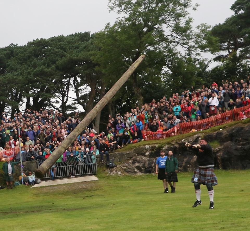 Thousands enjoy Skye Highland Games