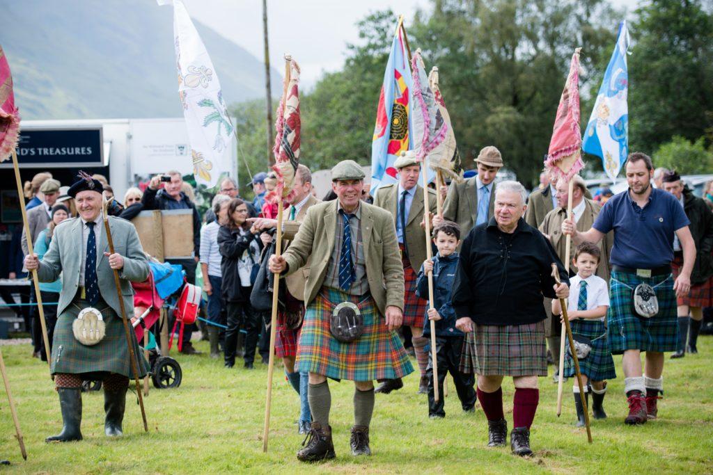 More than 1,000 spectators flock to Glenfinnan Gathering