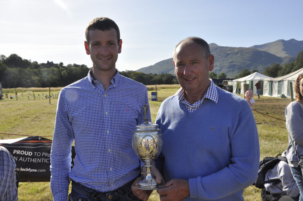 Home victory for MacGillivrays at Dalmally Show