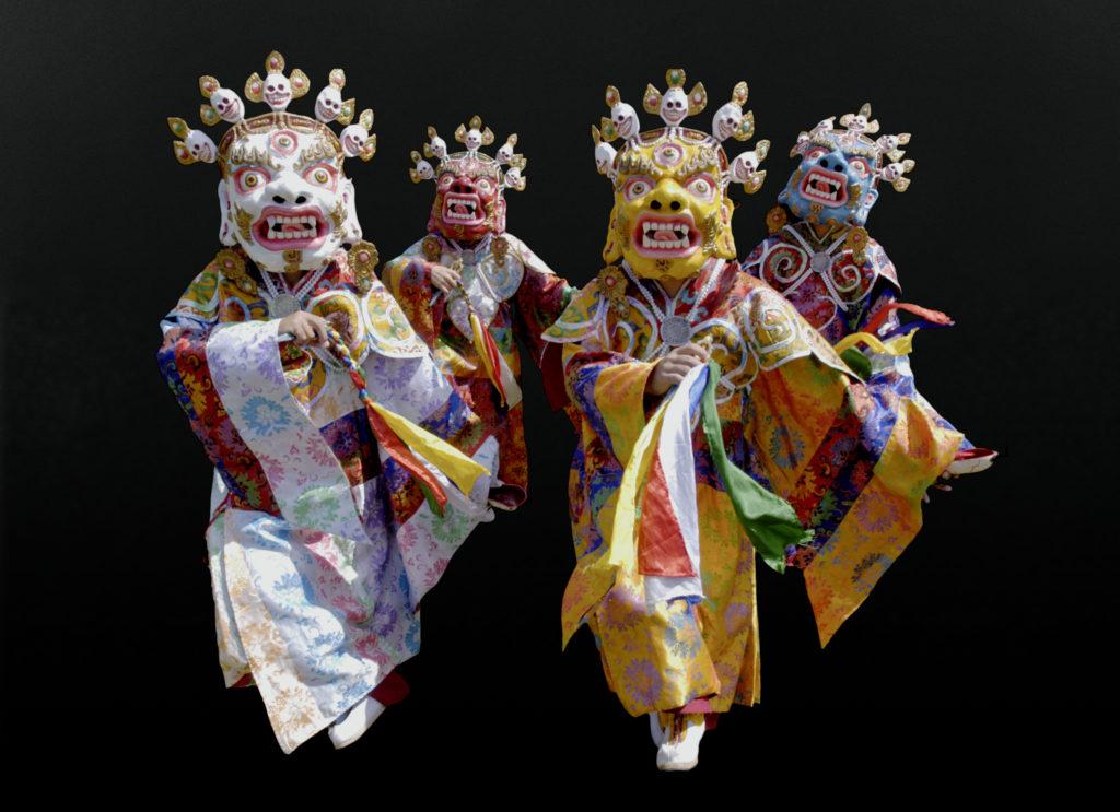 Tibetan monks bring sacred dance music to Luing