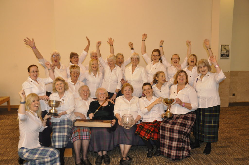 Special performance sees Mull Gaelic Choir Ladies win it all