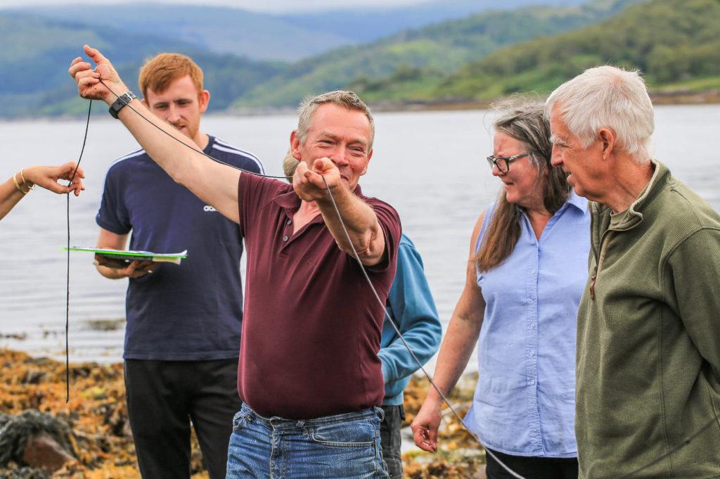 CAOLAS update on summer of marine surveys on Loch Sunart