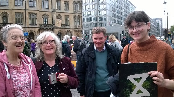 Oban rebels travel to London for climate protests